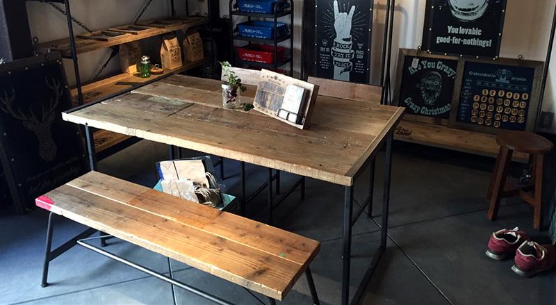 テーブル設置例